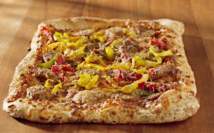 Пицца с тремя перцами