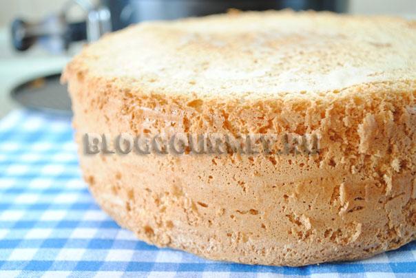 пригототвление бисквита