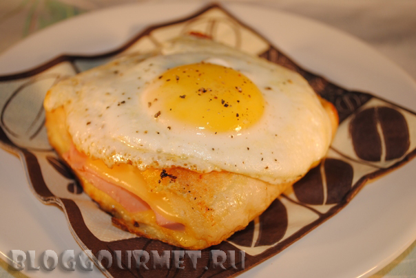 Croque Monsieur и Croque-madame
