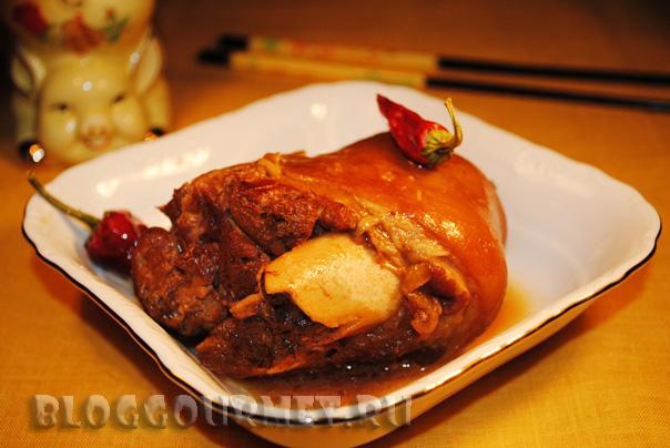 свиная рулька по китайскому рецепту