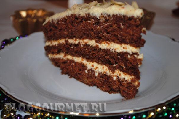 морковный торт с пряностями