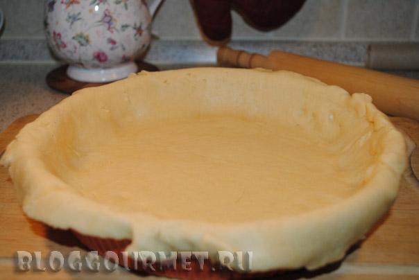 яблочный пирог с кремом по рецепту Джулии Чайлд