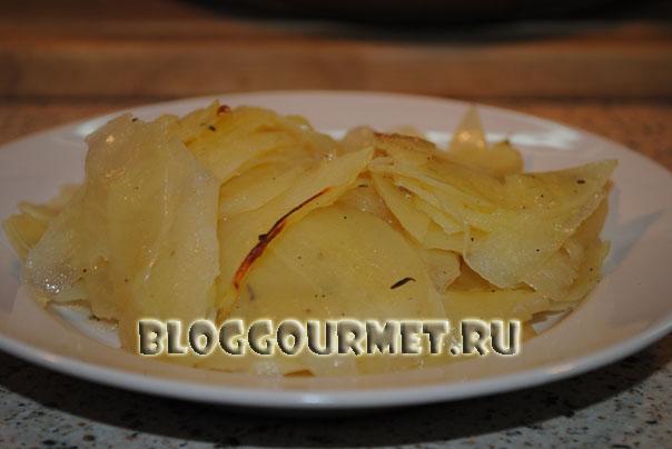 картофельная запеканка на гарнир