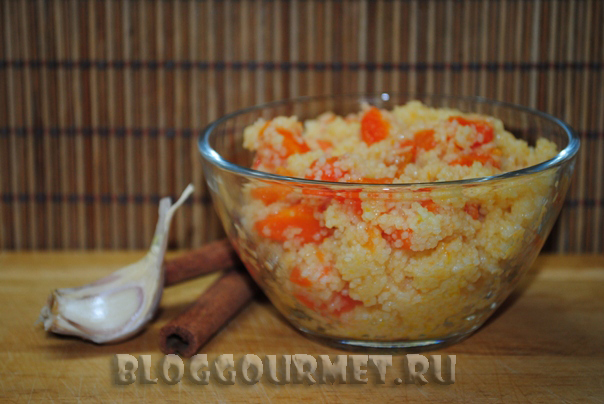 салат с кускусом и морковью