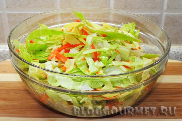 рецепт маринованной капусты