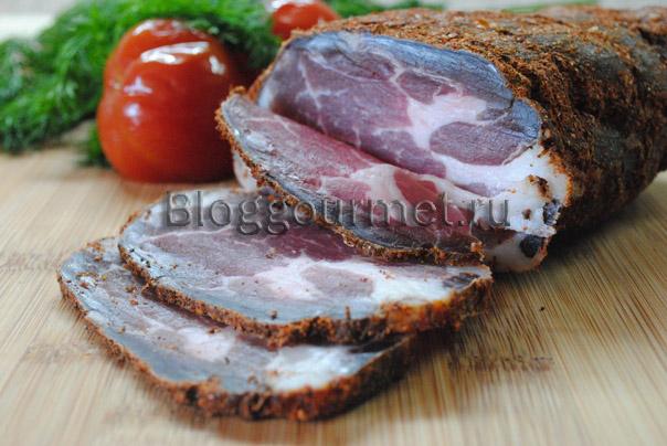 сыровяленое мясо