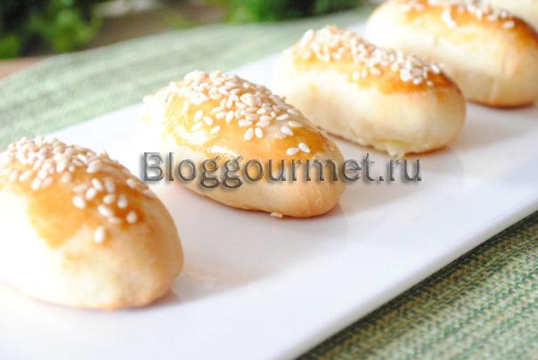 Пирожки с сыром к супу или бульону