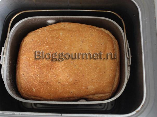 хлеб с семечками