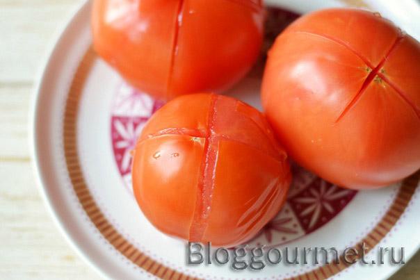 Салат из моркови и помидор на зиму