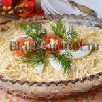 Салат с консервированной фасолью и помидорами