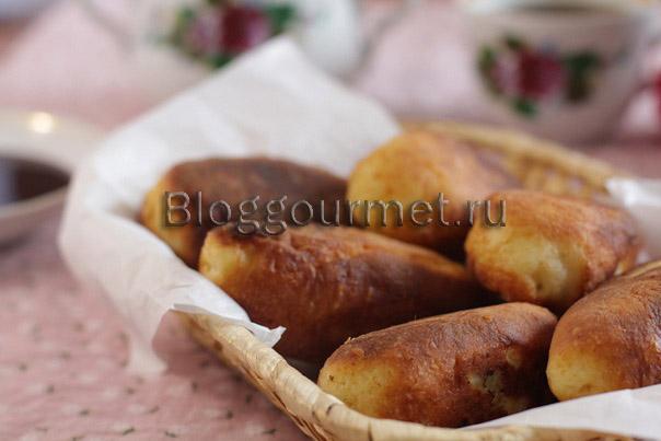 Тесто для пирожков (на твороге и кефире) 10
