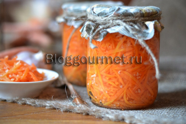 Консервирование моркови