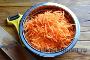 Морковь с чесноком консервированная