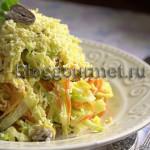 Салат из куриных сердец
