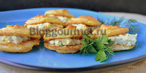 Необычное блюдо из цветной капусты: закусочные пирожные