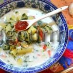 Рецепт приготовления супа из замороженного шпината