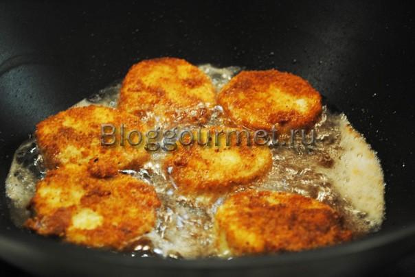 Рецепт наггетсов из курицы на сковороде