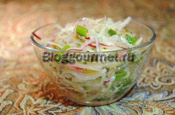 вкусный салат редиской рецепт фото