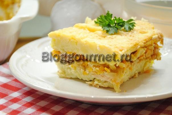 рыбная запеканка в духовке рецепт с фото пошагово