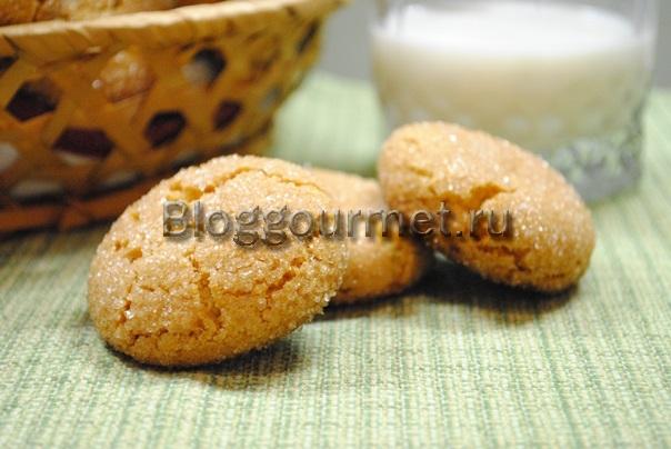 Печенье на сметане с творогом рецепт пошагово