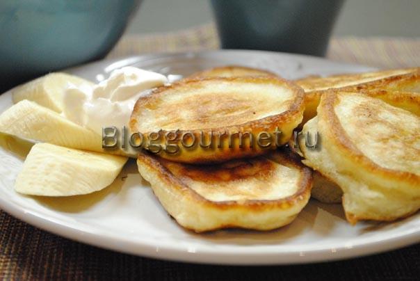 банановые оладьи рецепт с фото