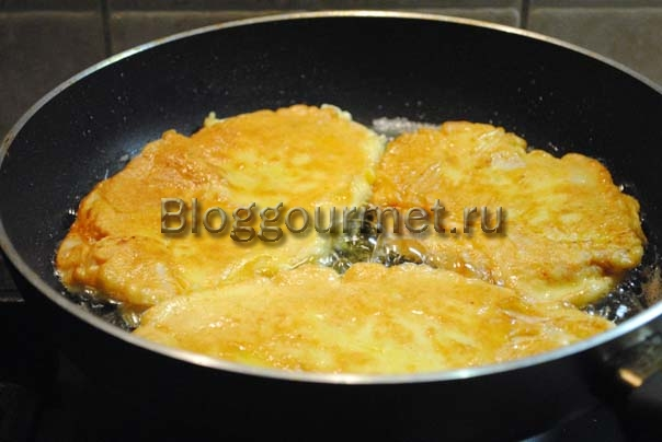 , куриные отбивные в кляре рецепт с фото