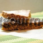 Ореховый пирог без муки