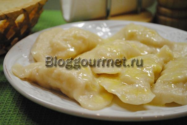 вареники с картошкой пошаговый рецепт с фото