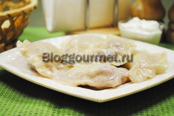 вареники с вишней рецепт с фото пошагово