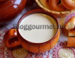 Как приготовить топленое молоко в печи