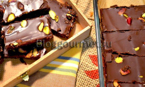 Домашние шоколадные конфеты с орехами и семечками