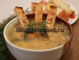 гороховый суп с курицей пошаговый рецепт с фото