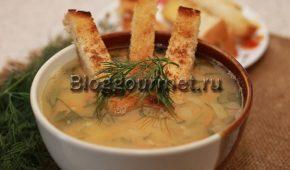 Миниатюра к статье Как приготовить гороховый суп с курицей: пошаговый рецепт с фото