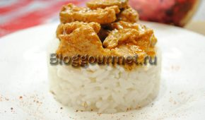 Миниатюра к статье Рецепт свинины с грибами и в сметанном соусе