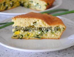 заливной пирог с луком и яйцом рецепт с фото