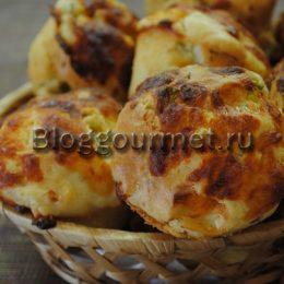 Маффины закусочные рецепт с фото