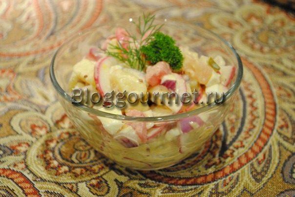 салаты из редиски рецепты с фото простые и вкусные