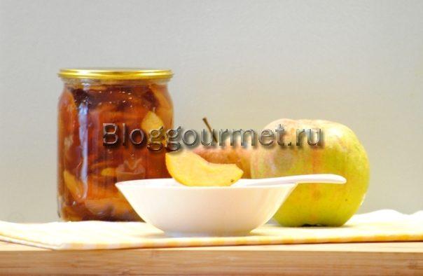 варенье из яблок дольками прозрачное