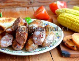 Немецкие домашние колбаски: рецепт с фото