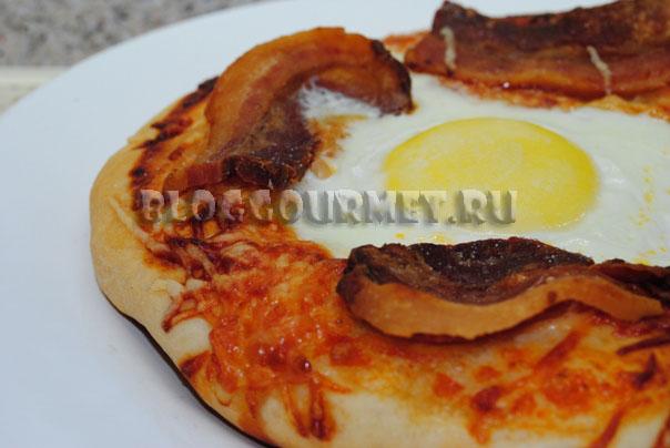мини пиццы к завтраку