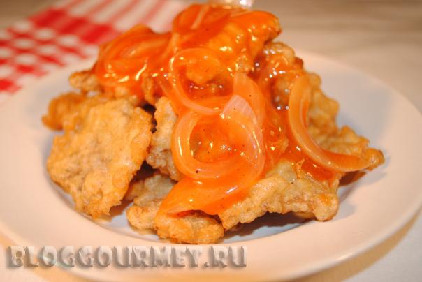 свинина по-китайски в кисло-сладком соусе рецепт с фото