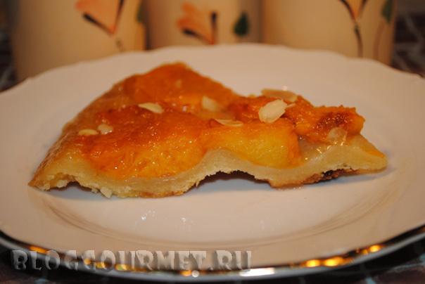 абрикосовый пирог перевертыш