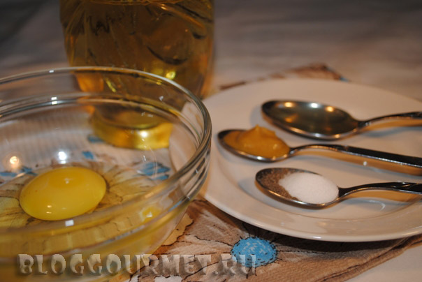 Натуральный майонез – кулинарный рецепт
