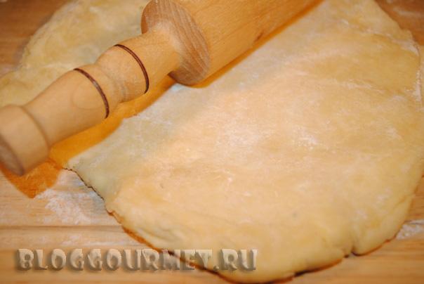 абрикосовый пирог-перевертыш
