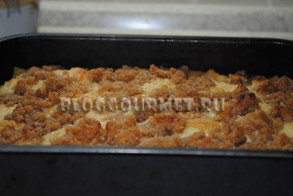 яблочная лазанья