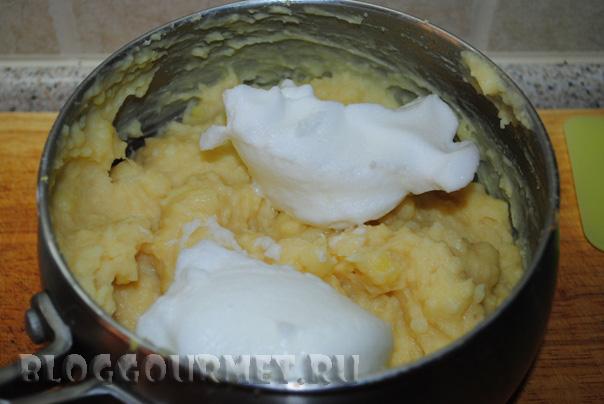 Закуска из лосося на картофельных оладьях