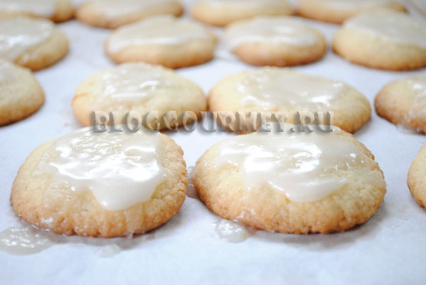 лимонное печенье
