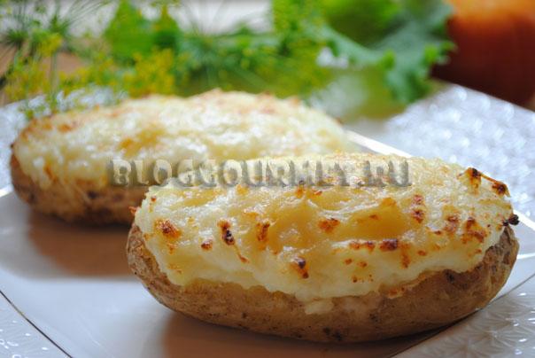 Дважды запеченный картофель