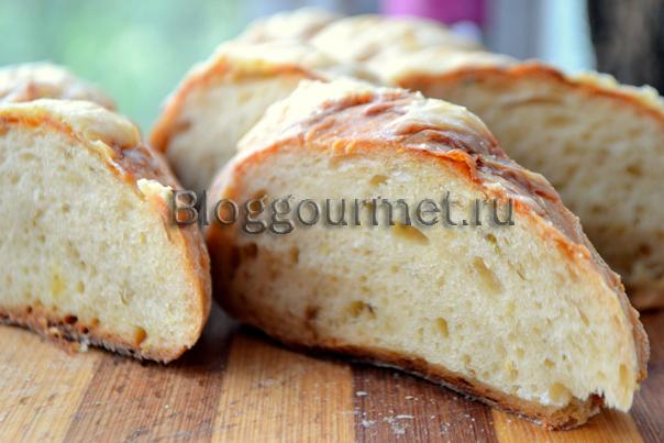 Закусочный картофельный хлеб