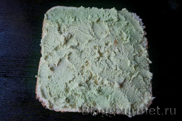 Торт с зеленым чаем Матча